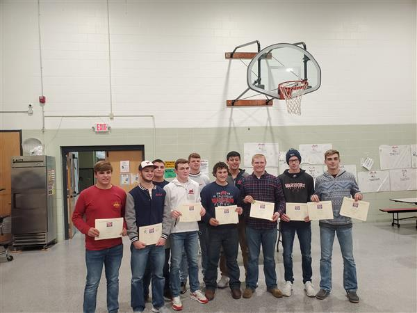 All District Football Team Members
